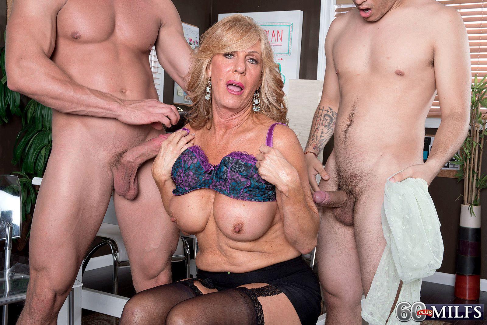 Sensitive big breasts
