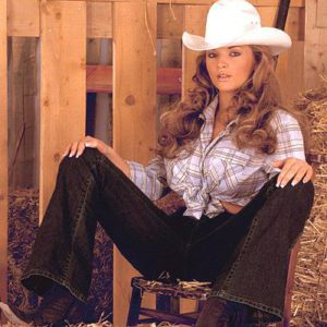 Authoritative Cowgirl in jeans nude pics