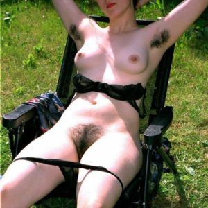 Hirsute Euro amateurs with enormous all-natural hooters uncovering wooly fuckboxes outdoors