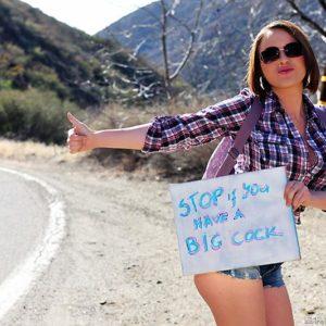 MILF XXX film starlet Krissy Lynn exposing enormous melons and fat butt before ass fucking from big rod