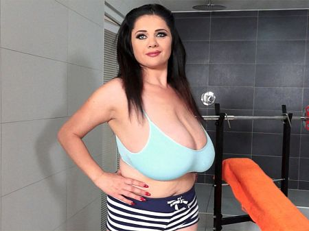Busty brunette Natasha Sweet stars in Training The Tits