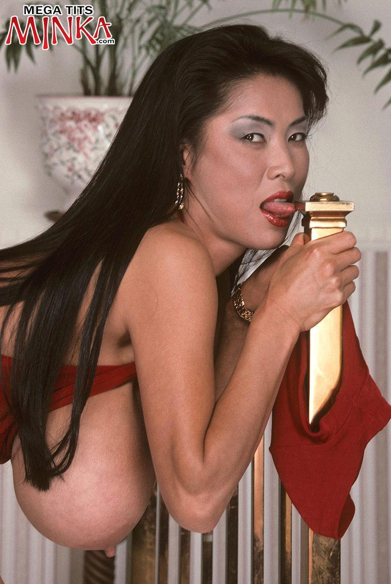 Asian Milf Porno Starlet Minka Extracting Humungous -1028