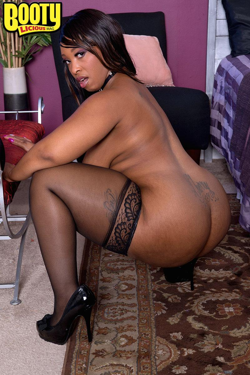 Big Booty Ebony Stripper Fuck