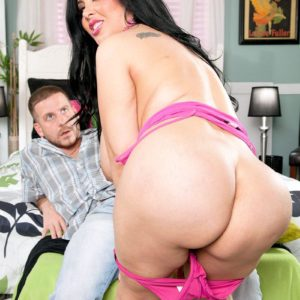 Latina girl Daylene Rio entices a dude with her overweight butt and massive titties