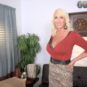 Experienced sandy-haired pornographic star Madison Milstar uncovering monster-sized all-natural titties before hard-core sex